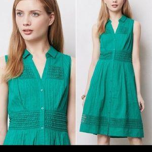 Antropologie -Maeve -sleeveless dress